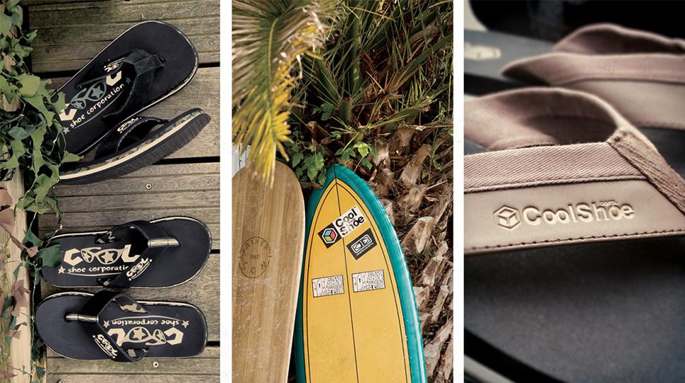 Cools Shoe pludmales šības un iešļūcenes
