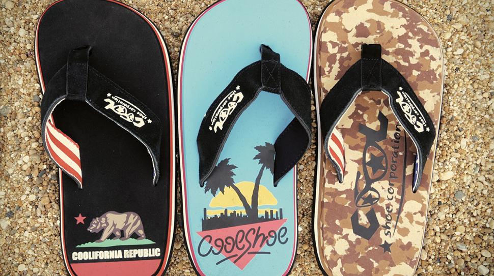 Cool Shoe pludmales iešļūcenes un čības