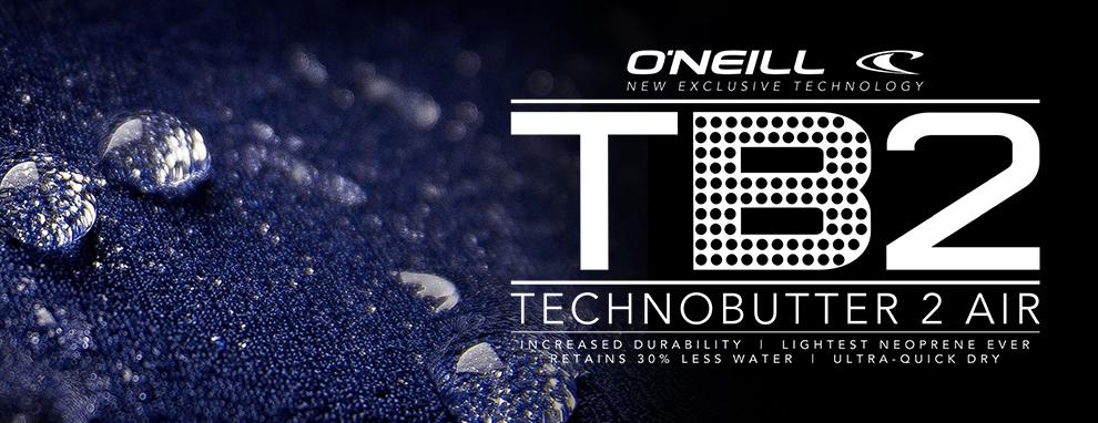 Tehniski pārākais O'Neill TechnoButter 2 neoprēns.